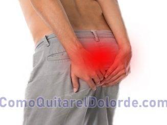 como quitar el dolor de coxis