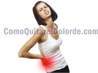 como quitar el dolor de lumbago