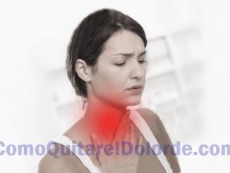 Garganta Inflamada dolor tragar